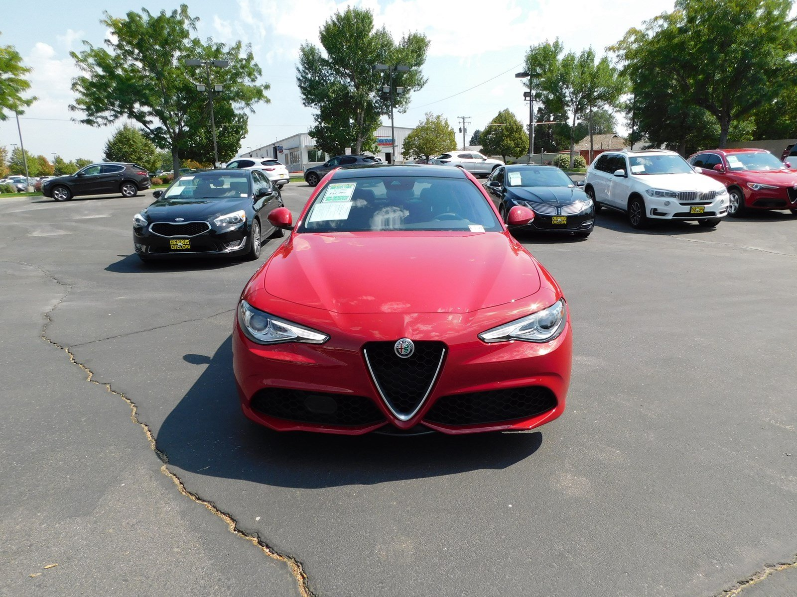 Pre Owned 2017 Alfa Romeo Giulia 4dr Car in Boise M PT